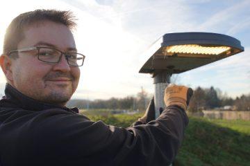 Intelligentes Licht für Westrandweg in Pattonville